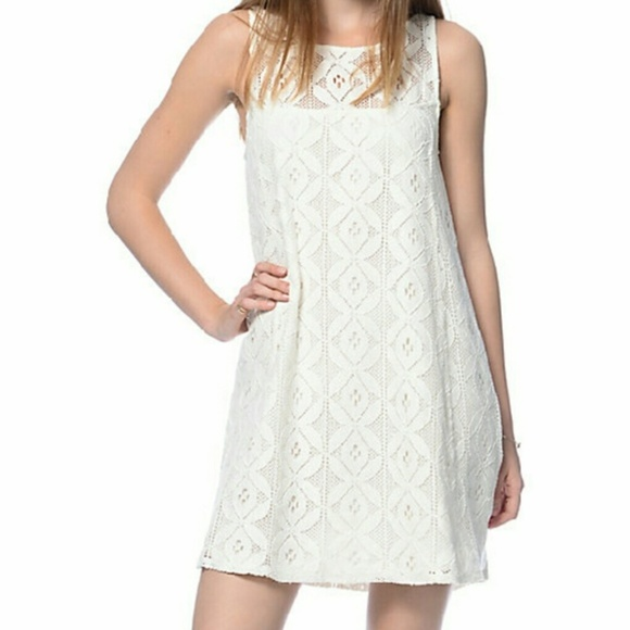 Zumiez Dresses Nwt Empyre Crochet Mini Dress Poshmark
